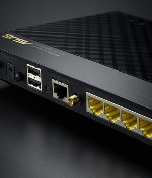 ASUS RT-AC66U AC1750Mbps Gigabit Router in Bangladesh.