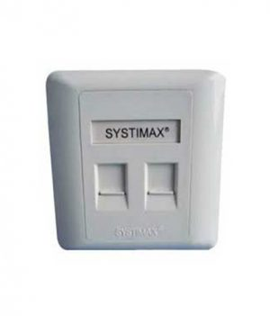 Systimax Dual Port Face Plate Price in Bangladesh