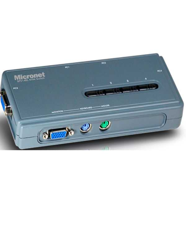 Micronet SP214EL KVM Switch Price in Bangladesh.