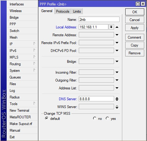 Mikrotik Router Basic Configuration Process