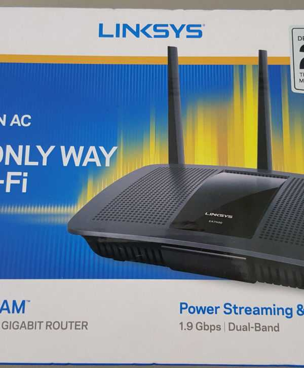 Linksys EA7500 Max-Stream AC1900 MU-MIMO Gigabit RouterPrice in Bangladesh.