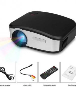 Cheerlux C6 Mini LED Projector With built-in TV Card Price in Bangladesh.