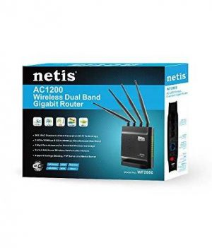 Netis WF2880 Wireless AC1200 Dual Band Gigabit Router Price in Bangladesh.