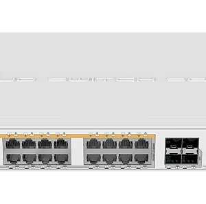 Mikrotik CRS328-24P-4S+RM 24 port Gigabit Ethernet Price in Bangladesh.
