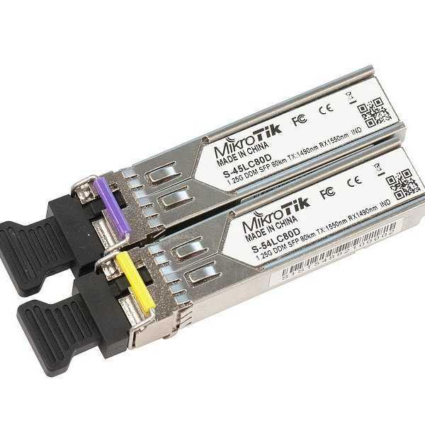 Mikrotik S-4554LC80D SFP 1.25G80km Price in Bangladesh.