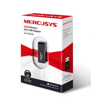 Mercusys MW300UM N300 Wireless Mini USB Adapter Price in Bangladesh.