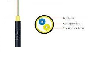 Poly 2 Core Optical Fiber Cable Price in Bangladesh.