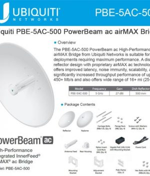 Ubiquiti PowerBeam 5AC-500 Price in Bangladesh