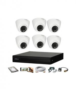 Dahua 6 Unit CC Camera Package Price in Bangladesh-https://independenttechbd.com/