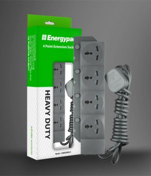 Energypac 4 Point Extension Socket Price in Bangladesh