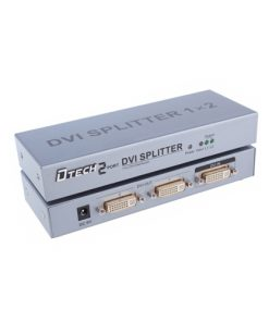 DTECH DT-7023 1 TO 2 DVI Splitter Price in Bangladesh